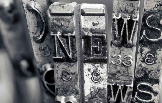"""The word """"NEWS"""" to represent the UMB Monthly Media Update August 2019"""