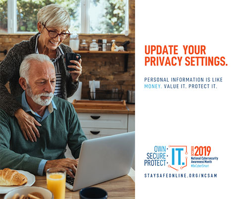 Update your privacy settings